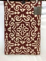 Allen Rust-Almond Rectangular Indoor Bohemian/Eclectic Throw Rug 2 x 3 -  816365 884631980548 | eBay