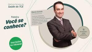"""Instituto de Contas - Semana da Saúde do TCE começa com a palestra """"Você se  conhece?"""""""