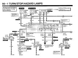 ford f super duty emergency flashers and directional lights graphic