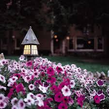 flower bed lighting. European Country™ Landscape Lighting In Beautiful Flowerbed Flower Bed A
