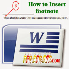 How To Insert Foot Note In Ms Word How To Ans Dont Worry About