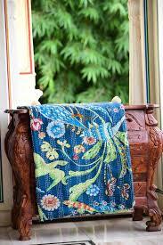size gudri handmade kantha throw quilt