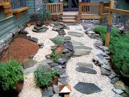 Small Picture Elegant Small Garden Designs With Stones 17 Best Ideas About Stone
