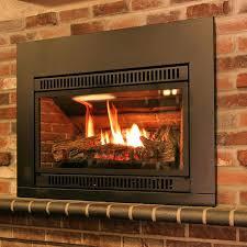 burn wood in gas fireplace wood burning fireplace gas starter kit