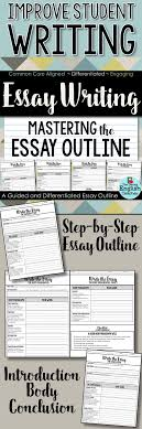 essay writing mastering the essay outline guided  essay writing mastering the essay outline guided instructions
