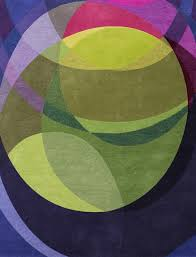 super green and purple rugs nobby design galaxy contemporary modern area by sonya winner