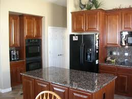 Stainless Steel Range Hood Dark Color Granite Countertops Kitchen - Granite kitchen ideas