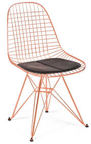 copper wire chair by modernica