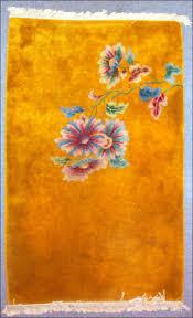 nichols gold art deco rug
