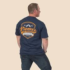 Shield Unisex <b>T</b>-<b>shirt</b> | <b>Pioneer</b> Log Homes of BC