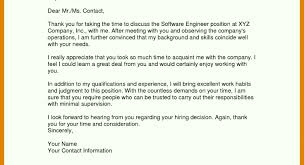 Thank You Letter Note Email After Interview Template