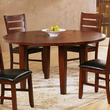 engaging dining room furniture assembled round drop leaf dining table plank red wood granite for 2 cherry wood tiny counter laminated double pedestal