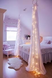 diy bedroom light curtains