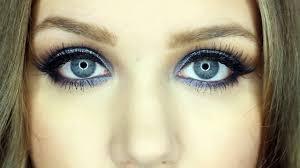 glamorous blue smokey eye double winged liner makeup tutorial video dailymotion
