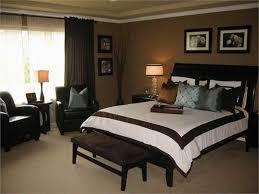 Elegant Brown Paint Bedroom Photo   1