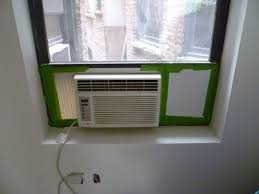 ac window unit. window ac unit o