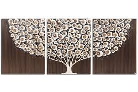 painting of brown and gray tree on brown wall art canvas with wall art tree painting on canvas in brown and gray large amborela
