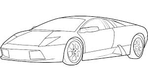 Car Coloring Picture Car Coloring Pages Police Car Coloring Pages