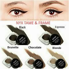 nyx makeup eyebrows. nyx tame \u0026 fame brow pomade (eyebrow pomade) makeup eyebrows o