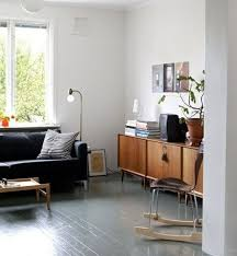 love the simplicity of this room and painted floor i also like that for once a tv is pictured in room know theyu0027re not pretty grey floors h44 painted
