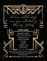 great gatsby party invitation template