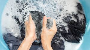washing your reusable face mask