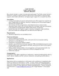Legal Administrative Assistant Cover Letter The Letter Sample