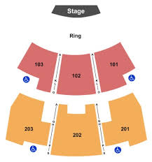 River Spirit Paradise Cove Seating Chart Paradise Cove At River Spirit Tickets Seating Charts And