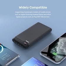 Pin Sạc Dự Phòng TOPK I1013 10000mAh Có Đèn LED Cho Xiaomi Huawei iPhone 12  Samsung - Toplink - Pin sạc dự phòng di động