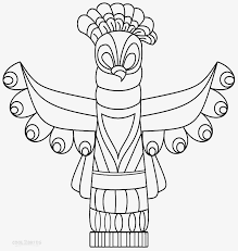 Totem Pole Coloring Pages Fresh 20 Awesome Totem Pole Animals