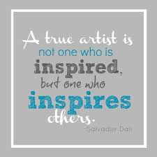 Inspirational Art Quotes Magnificent Inspirational Quotes 48 A True Artist Artflakes