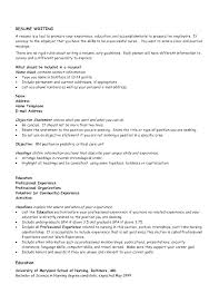 Resume Objective Statement Career Change Objectives Exams For