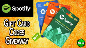 spotify gift card free spotify gift card codes 2018 giftcard giftcardus spotifygiftcard