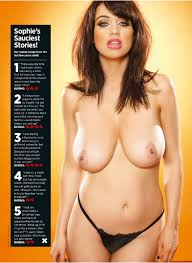 Big Boobs Cover Girl Sophie Howard Topless Pictures from Nuts.