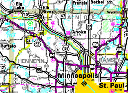 gdma cartographic products tda, mndot Mn Highway Map map of the northwest twin cities metropolitan area the gim section provides mapping for minnesota's mn highway map pdf
