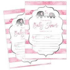 Free Printable Baby Shower Invitations For Girls 50 Fill In Elephant Baby Shower Invitations Baby Shower Invitations Jungle Neutral Baby Shower Invites For Girls Baby Girl Shower Invitation