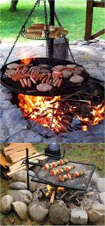 outdoor fire pit grills are even more fun