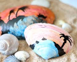 24) Last but not least  Seashell poetry  what a wonderful way to capture  holiday moments!