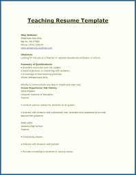 School Teacher Resume Format In Word Resume Skills Teacher Teacher Resume Format In Word 24 Sample 7