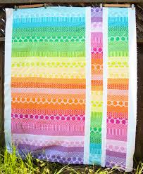 jelly roll quilt, cute and easy!! Love the bright colors for a ... & jelly roll quilt, cute and easy!! Love the bright colors for a baby Adamdwight.com