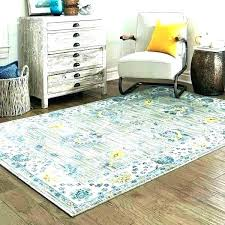 blue yellow rug and area rugs braided white blue