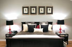Fresh Black And White Picture For Bedroom Bold With Bright Pop Of ...