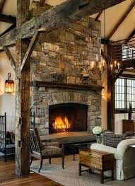 indoor stone fireplace kits in a barn addition by crisp architects best fireplaces ideas on rustic