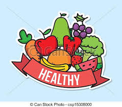 healthy food clipart. Perfect Clipart Banner Stock Good Foods Drawing At Getdrawings Free For Clip Art Library  Nutrition Clipart Healthy  To Healthy Food Clipart P