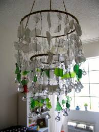 living appealing sea glass chandelier 13 amazing for home decor ideas with pink silver lights deer