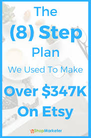 the step plan we used to make over k on eshop marketer the 8 step plan we used to make over 347k on