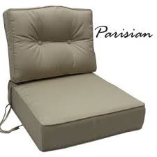 Replacement cushions for cast aluminum teak or wrought iron patio