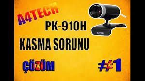 A4 TECH PK-910H WebCam Kasma Sorunu Çözümü / 2017 - YouTube