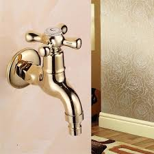 garden faucet. New Gold Brass Garden Faucet Brief Bibcock Washing Machine Copper Bibcock,Toilet Tap R