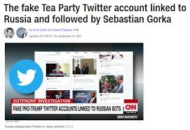 Trump Undead-earth Russian com Fake – By Helped Twitter Accounts